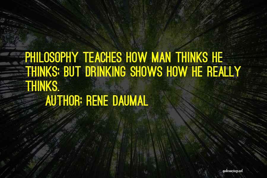 Rene Daumal Quotes 2000302