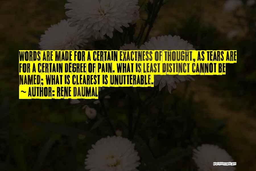 Rene Daumal Quotes 2209520