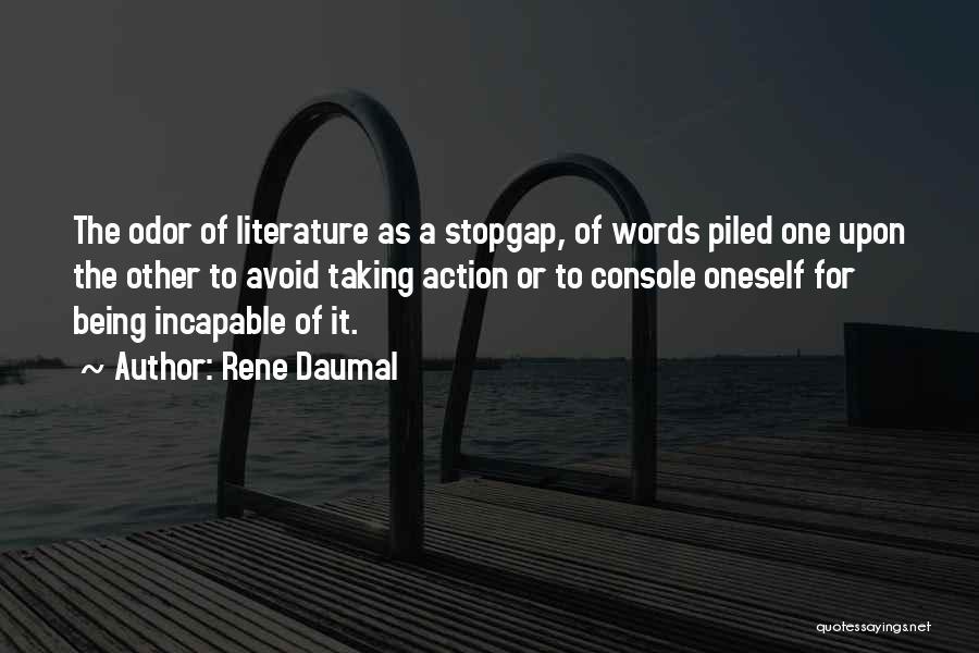 Rene Daumal Quotes 242369
