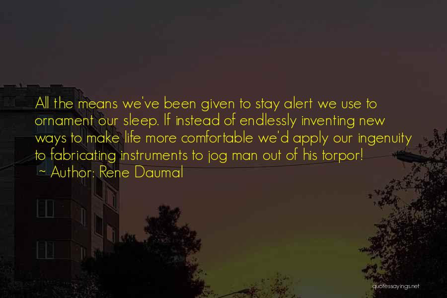 Rene Daumal Quotes 257116