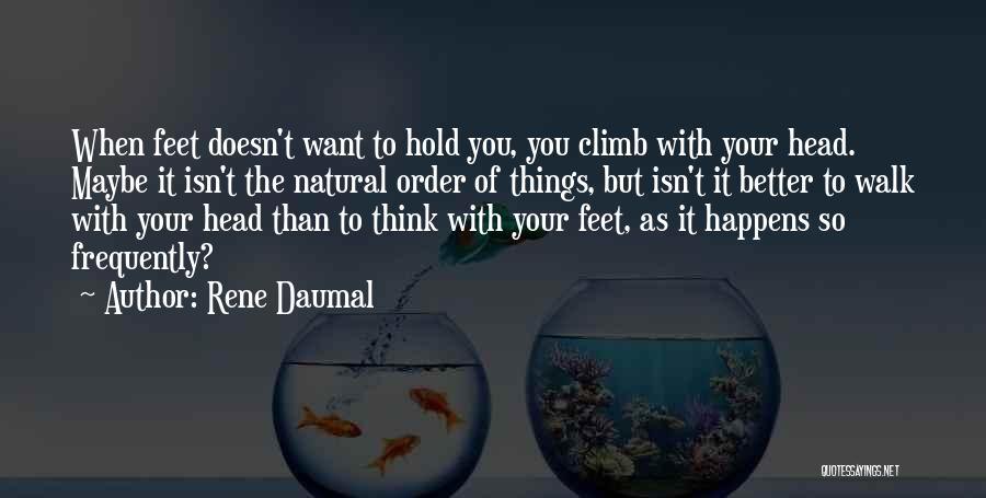 Rene Daumal Quotes 305741