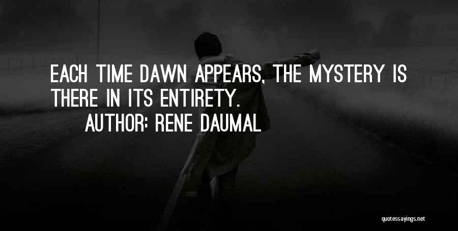 Rene Daumal Quotes 348915