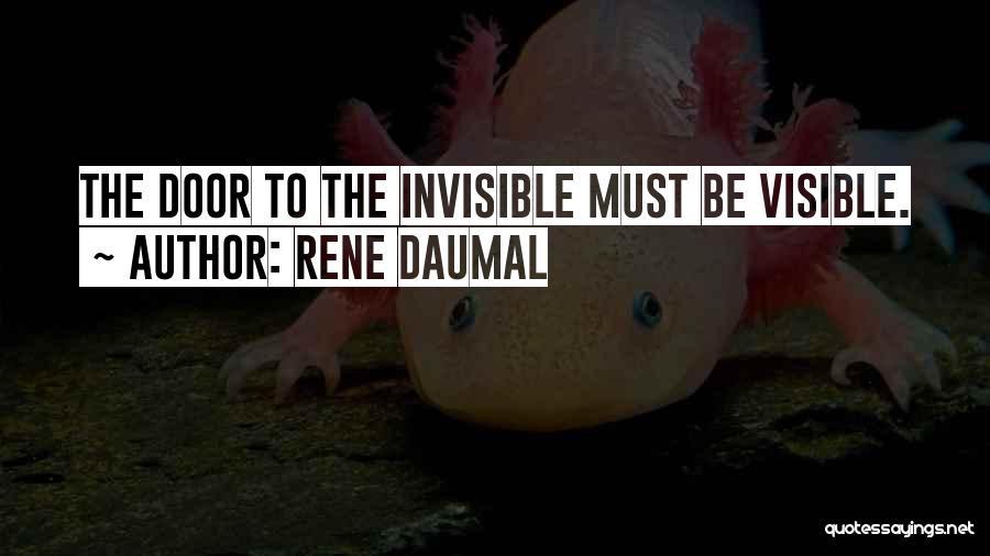 Rene Daumal Quotes 675107