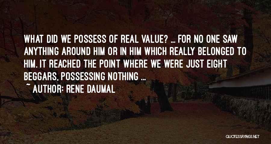 Rene Daumal Quotes 859371