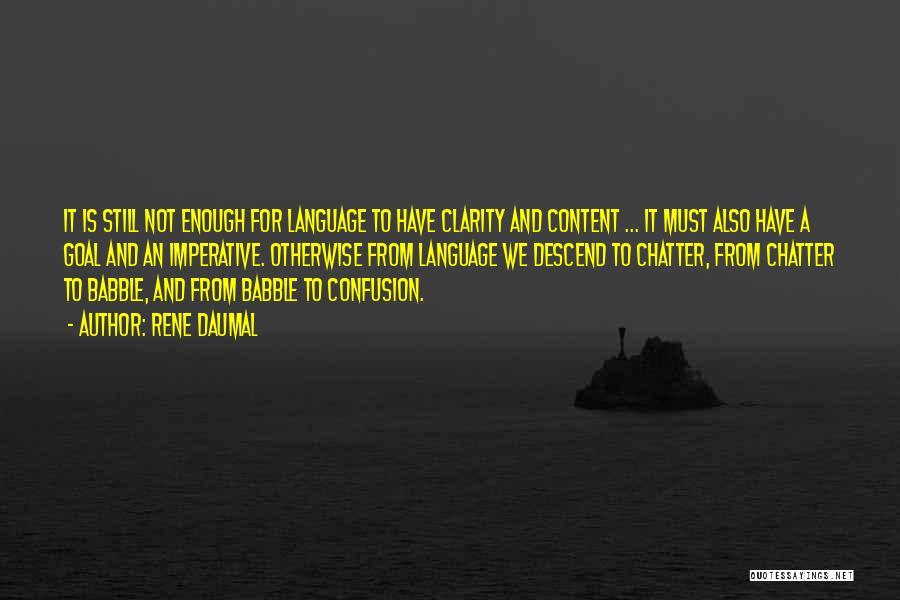 Rene Daumal Quotes 929080