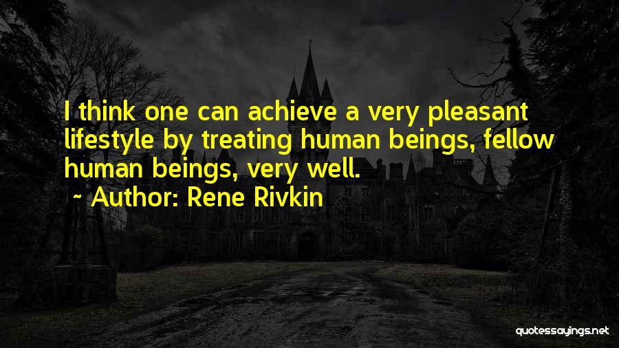 Rene Rivkin Quotes 100806
