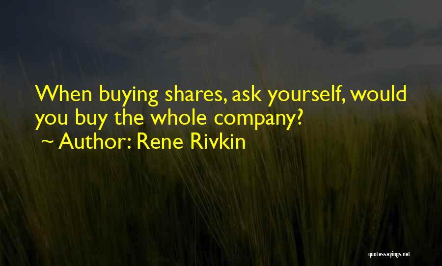 Rene Rivkin Quotes 241280