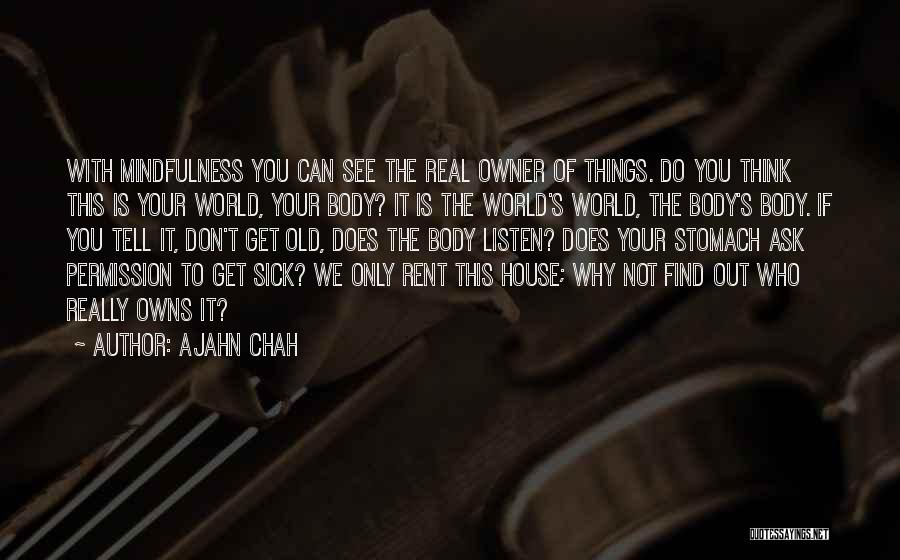 Rent Quotes By Ajahn Chah