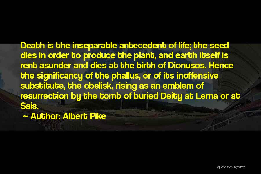 Rent Quotes By Albert Pike
