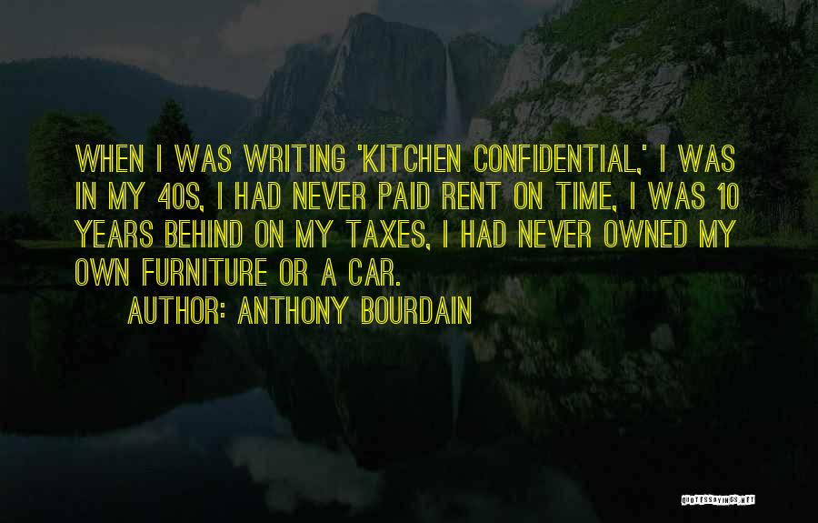 Rent Quotes By Anthony Bourdain