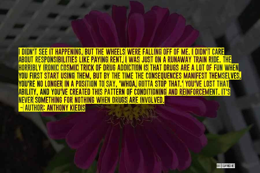 Rent Quotes By Anthony Kiedis