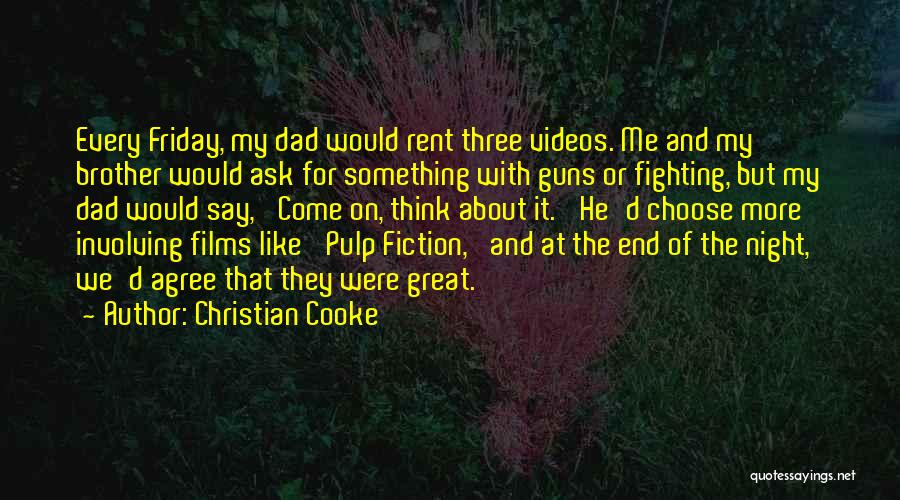Rent Quotes By Christian Cooke