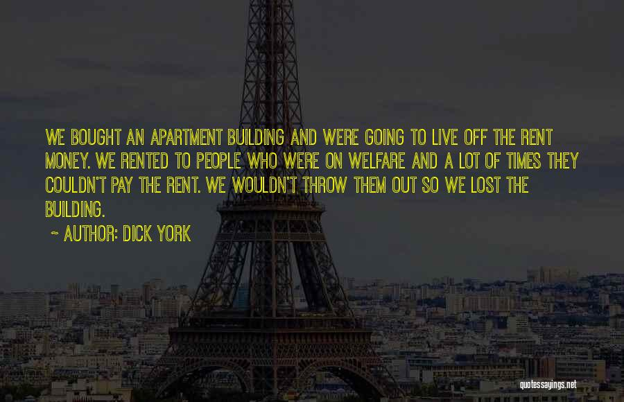 Rent Quotes By Dick York