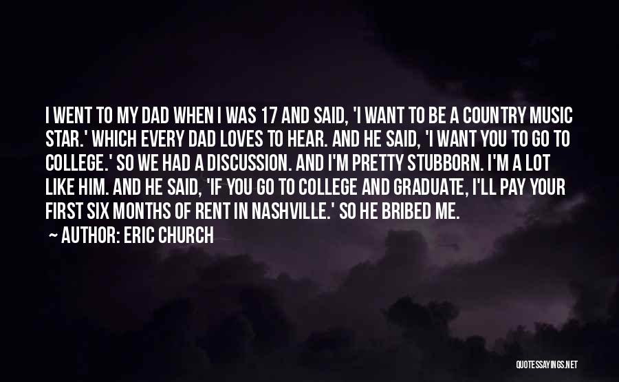 Rent Quotes By Eric Church