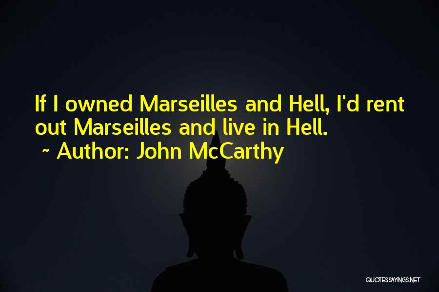 Rent Quotes By John McCarthy