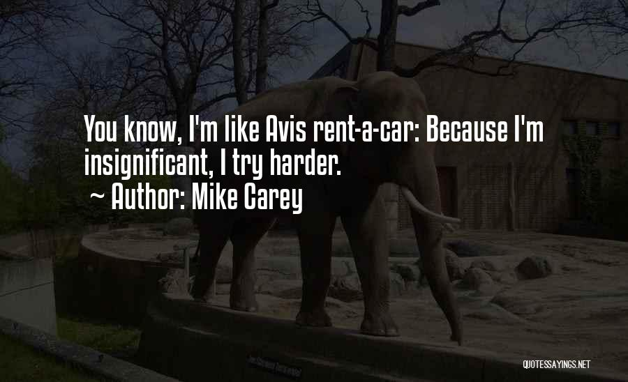 Rent Quotes By Mike Carey