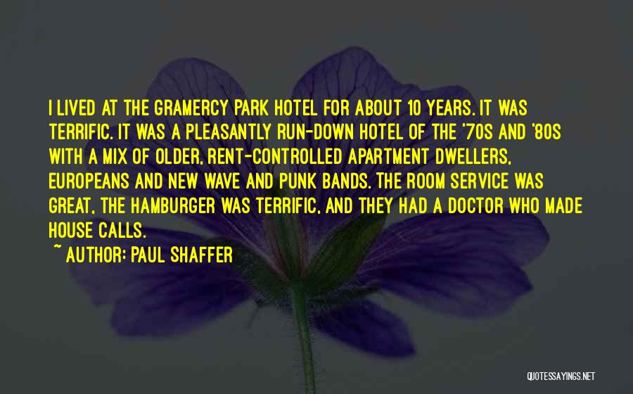 Rent Quotes By Paul Shaffer