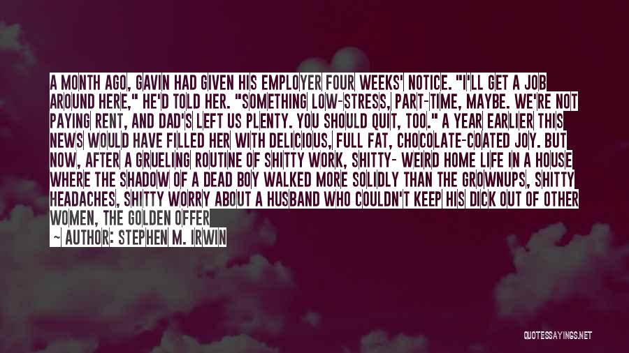 Rent Quotes By Stephen M. Irwin