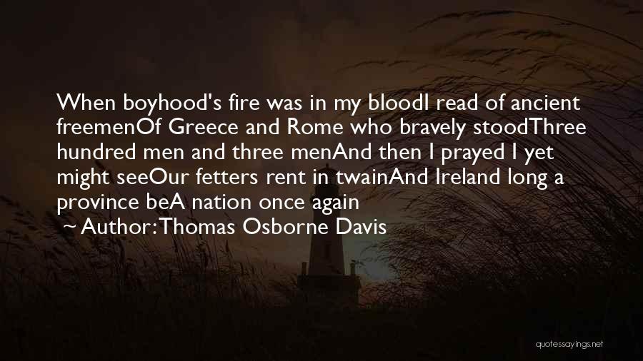 Rent Quotes By Thomas Osborne Davis