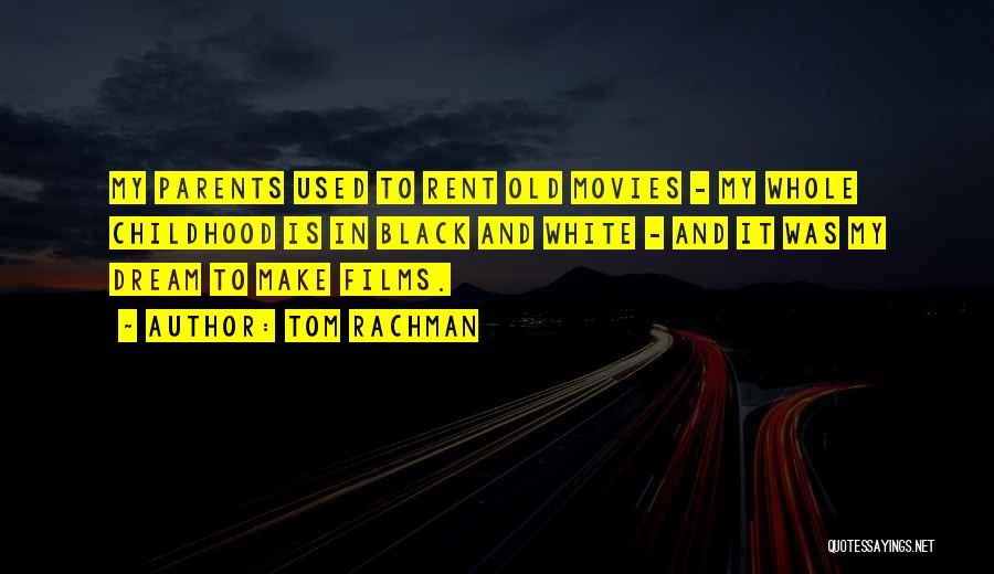 Rent Quotes By Tom Rachman