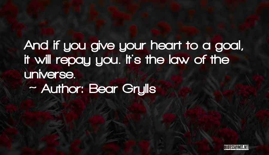 Repay Quotes By Bear Grylls
