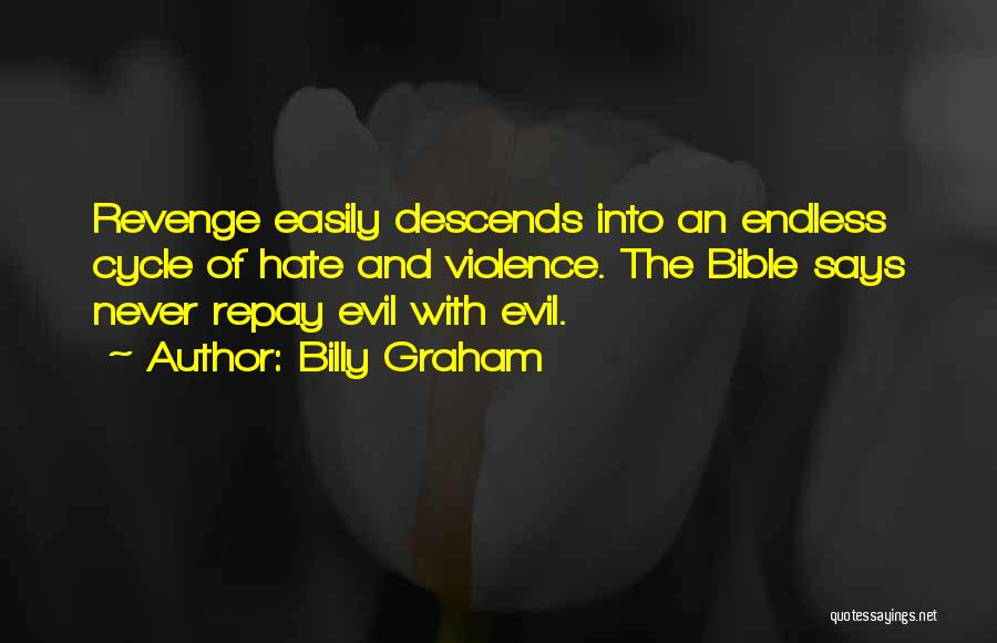 Repay Quotes By Billy Graham