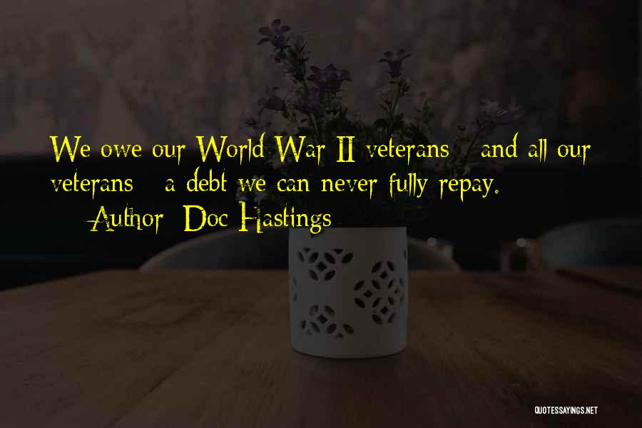 Repay Quotes By Doc Hastings