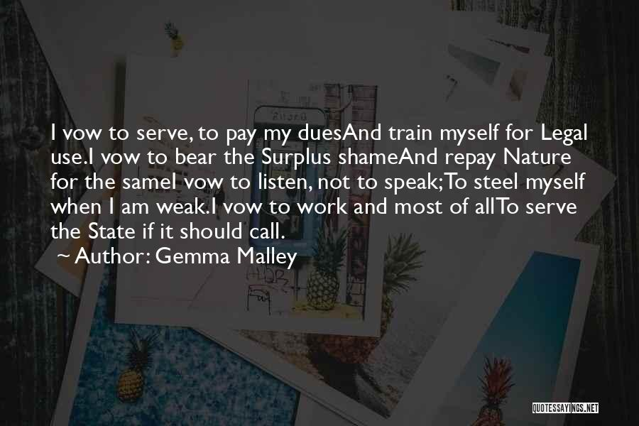 Repay Quotes By Gemma Malley