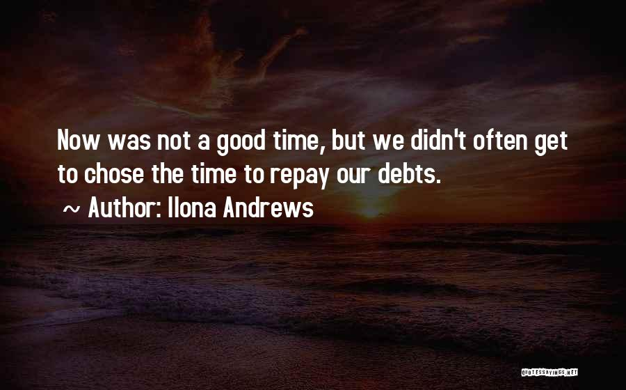 Repay Quotes By Ilona Andrews