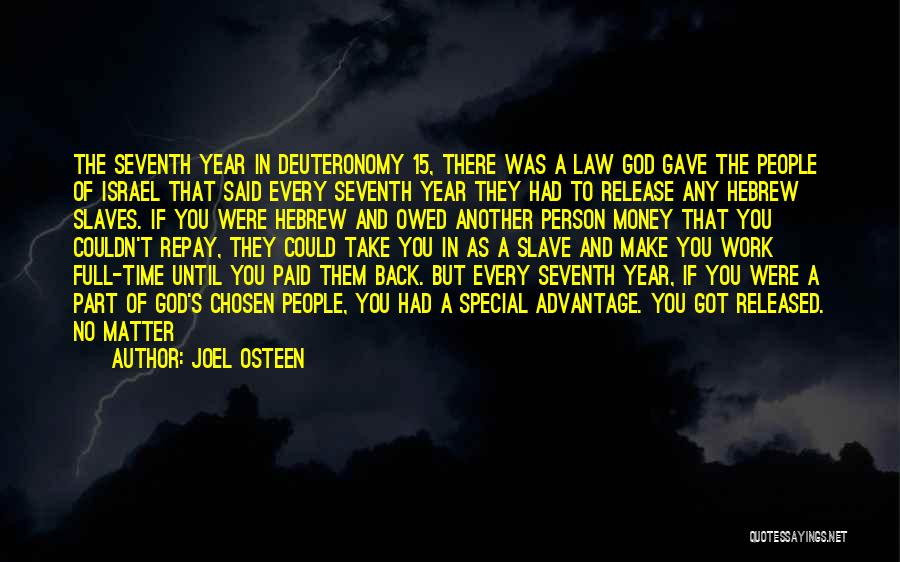 Repay Quotes By Joel Osteen