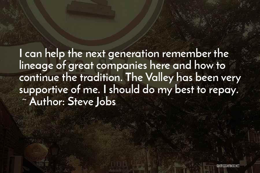 Repay Quotes By Steve Jobs