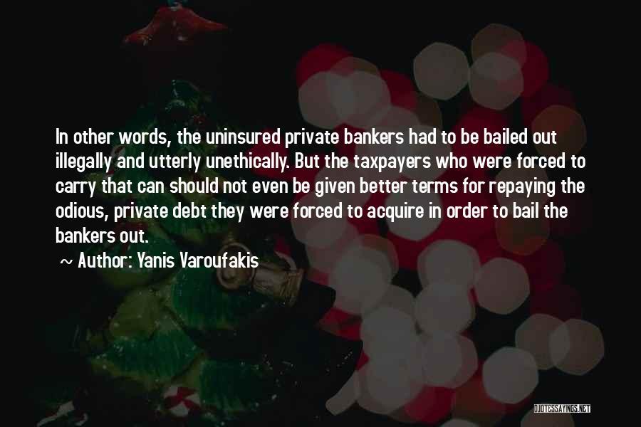Repaying Debt Quotes By Yanis Varoufakis