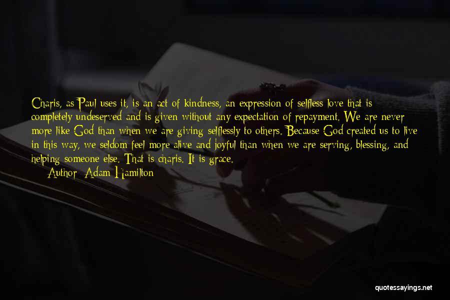 Repayment Quotes By Adam Hamilton