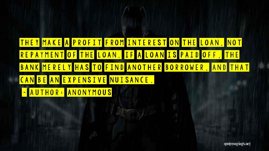 Repayment Quotes By Anonymous