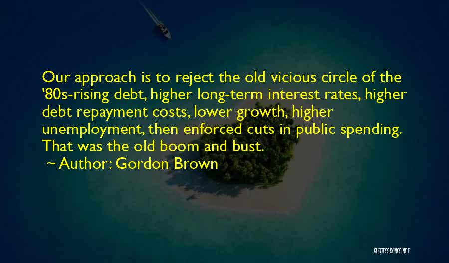 Repayment Quotes By Gordon Brown