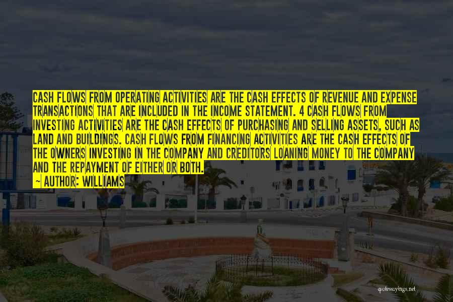 Repayment Quotes By Williams
