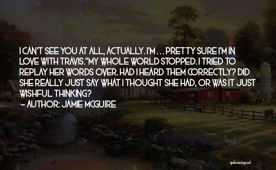Replay Quotes By Jamie McGuire