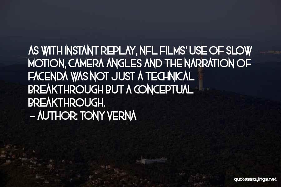 Replay Quotes By Tony Verna