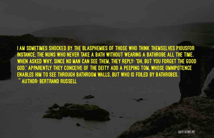 Reply To All Quotes By Bertrand Russell
