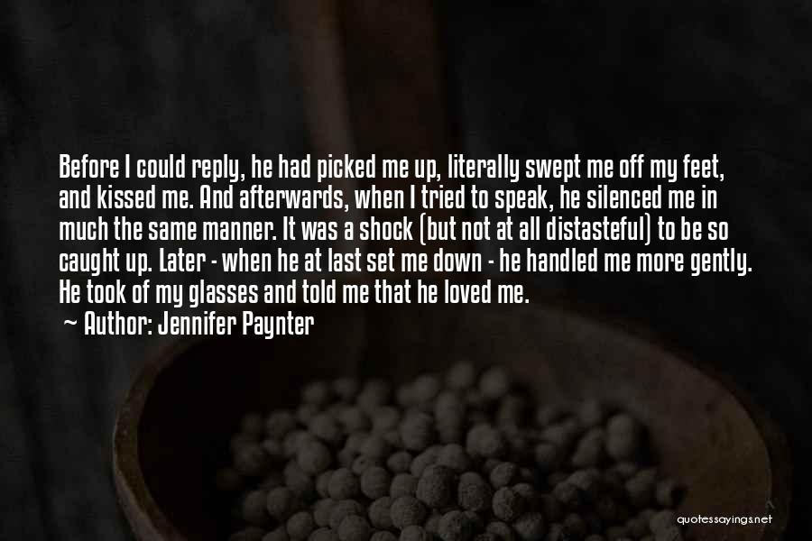 Reply To All Quotes By Jennifer Paynter