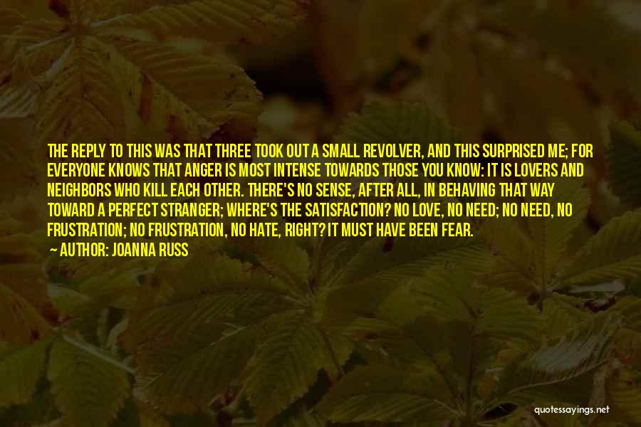 Reply To All Quotes By Joanna Russ