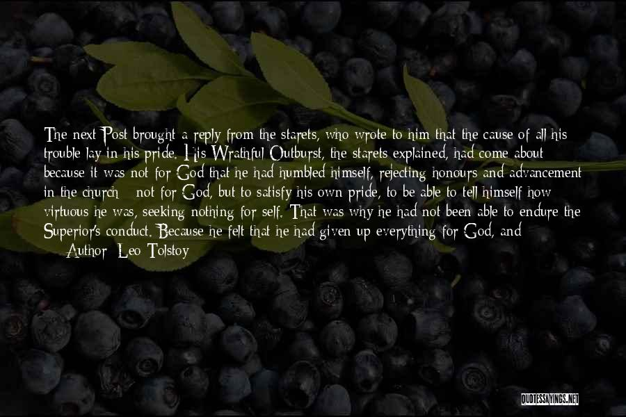 Reply To All Quotes By Leo Tolstoy