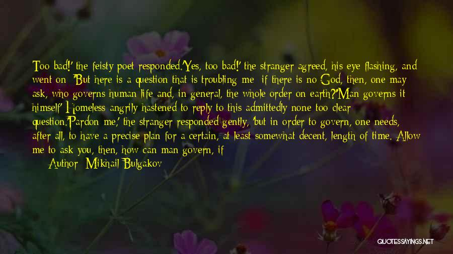 Reply To All Quotes By Mikhail Bulgakov
