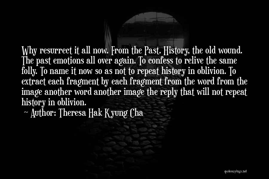 Reply To All Quotes By Theresa Hak Kyung Cha
