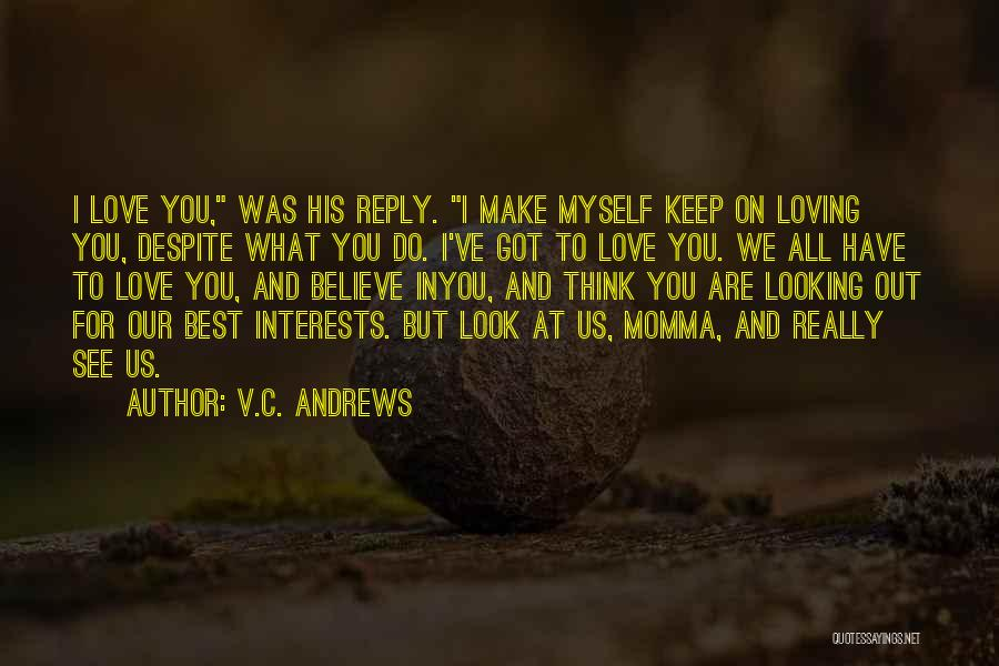 Reply To All Quotes By V.C. Andrews