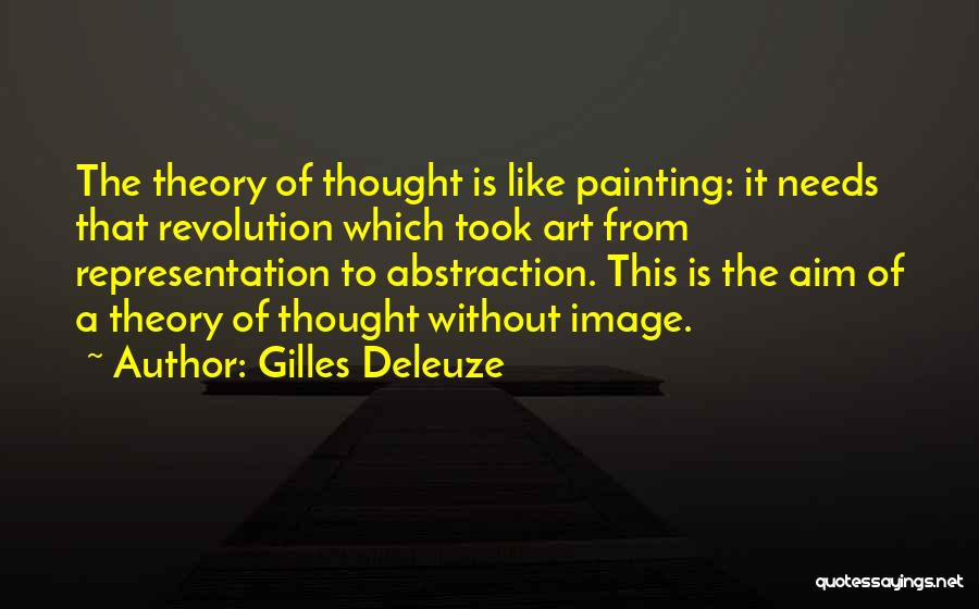 Representation Theory Quotes By Gilles Deleuze
