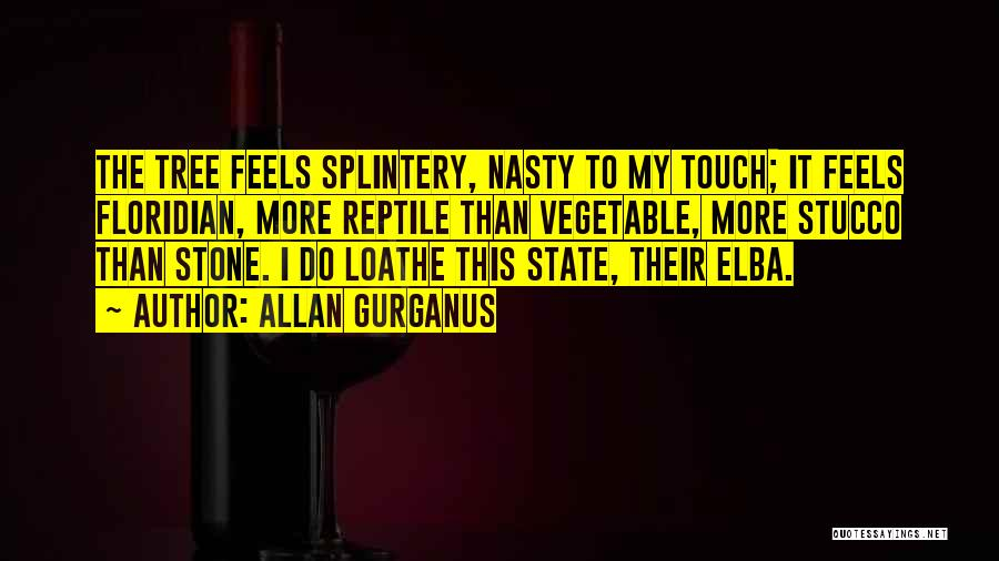 Reptile Quotes By Allan Gurganus