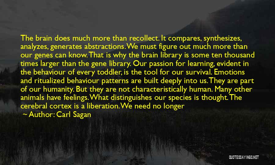 Reptile Quotes By Carl Sagan