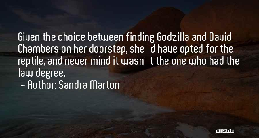 Reptile Quotes By Sandra Marton