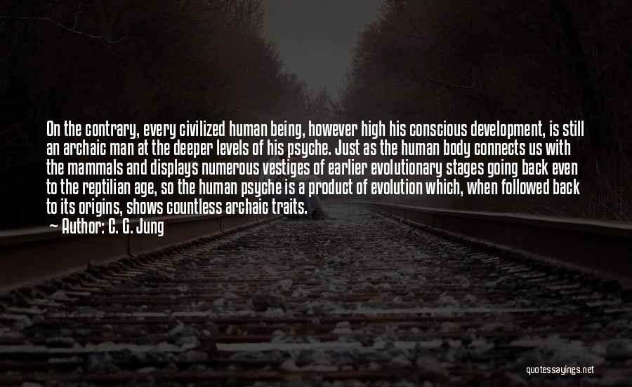 Reptilian Quotes By C. G. Jung